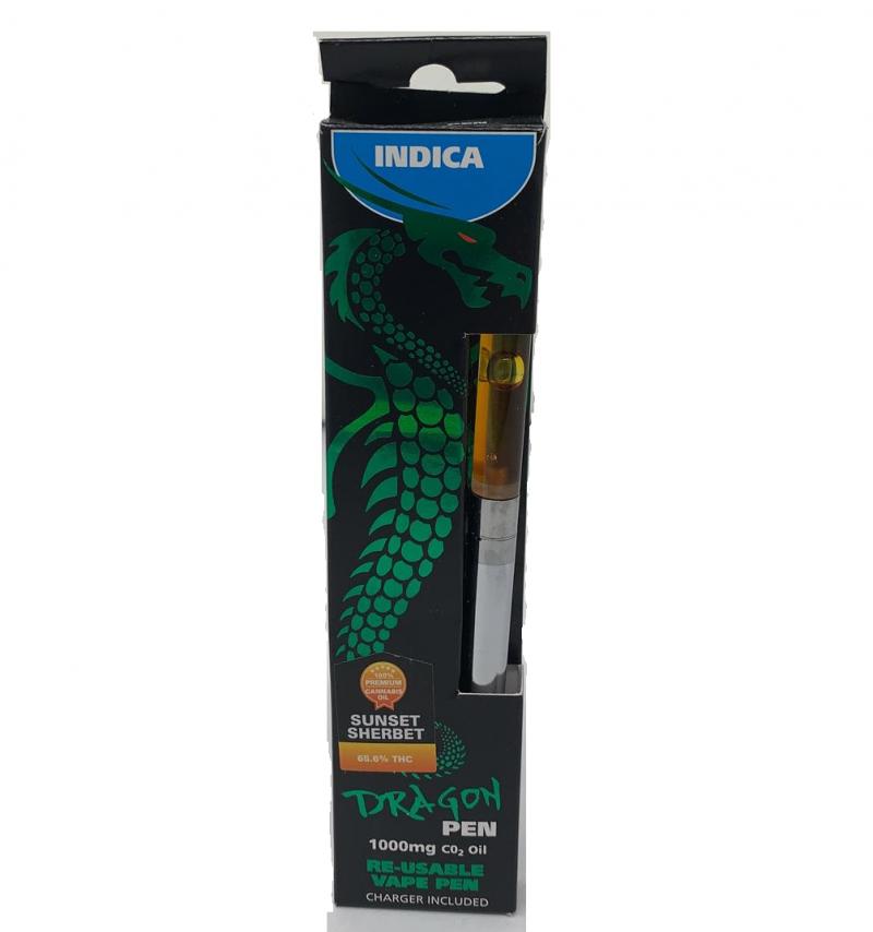 Sunset Sherbet Dragon Pen